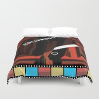 hollywood Duvet Covers featuring Hollywood by AndISky