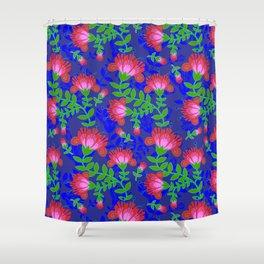 Flora De Fuego Royal Shower Curtain