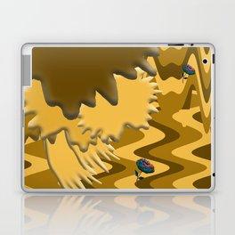 Shades of Brown Waves Laptop & iPad Skin