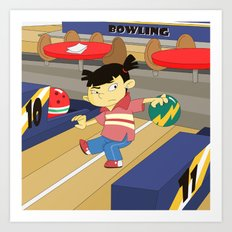 Non Olympic Sports: Bowling Art Print