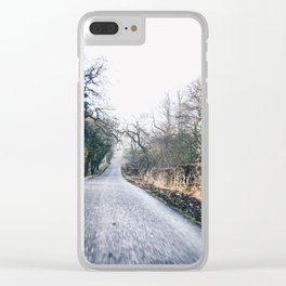 exploring Derbyshire Clear iPhone Case