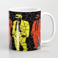 "reservoir dogs Mugs featuring ""Reservoir Dogs"" Unique mosaic  by mosaics-design.com"