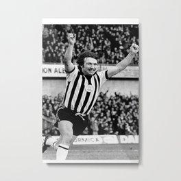 Newcastle United football team poster Metal Print