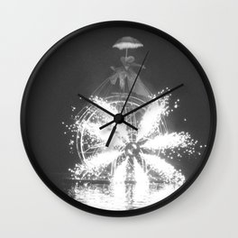 """Wonders on a water"" Wall Clock"
