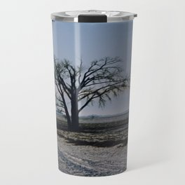 Minnesota Winter- Tree - on the way to Marshall - Wild Veda Travel Mug