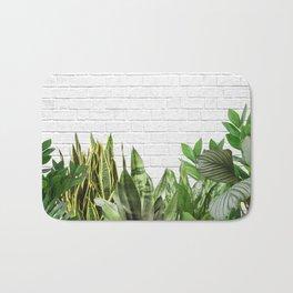 Plants Life Bath Mat