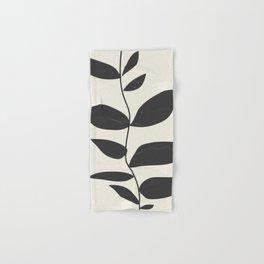 minimal plant Hand & Bath Towel