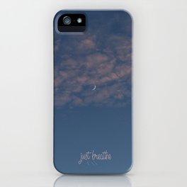 just breathe #2 iPhone Case