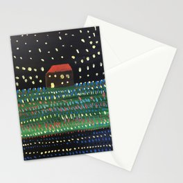 In a Field of Flowers Stationery Cards