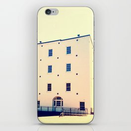 Stars and White Buildings iPhone Skin