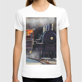 The Rail Yard  -  Steam Train T-shirt