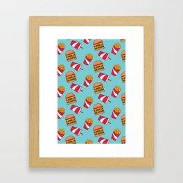 Food Junkie II Framed Art Print