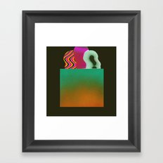 Bagged Groceries Framed Art Print
