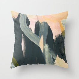 abstract painting IV Throw Pillow
