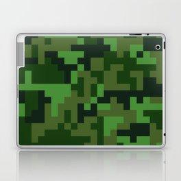 Green Jungle Army Camo pattern Laptop & iPad Skin