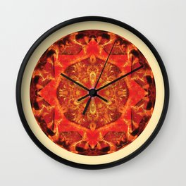 Mandalas from the Heart of Transformation 7 Wall Clock