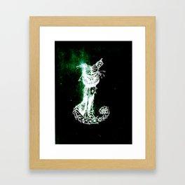 chesire cat 2 Framed Art Print