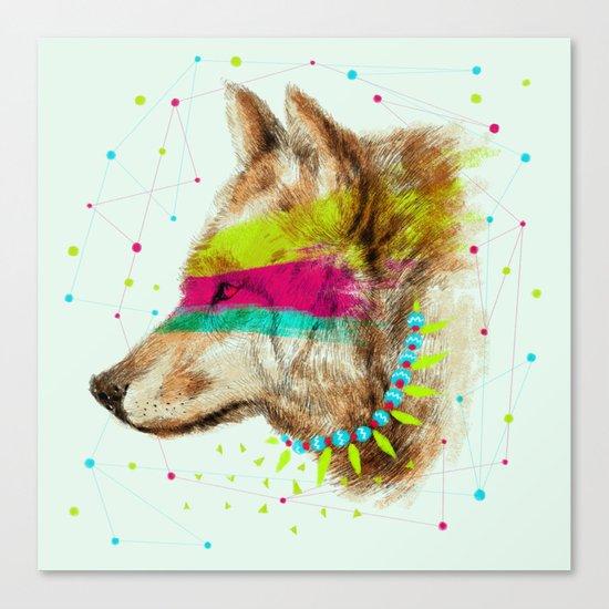 Cherokee Wolf II Canvas Print