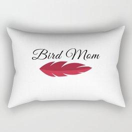 African Grey Parrot MOM Rectangular Pillow