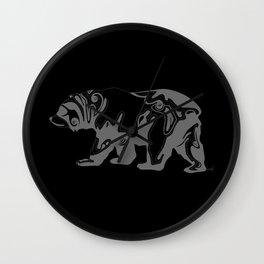 Cali Bear II Wall Clock