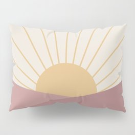 Morning Light - Pink Pillow Sham