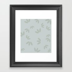 Drops light. Framed Art Print