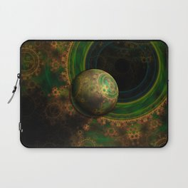 TikTok's Four-Dimensional Steampunk Time Contraption Laptop Sleeve
