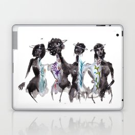 Saturn Sisters Laptop & iPad Skin