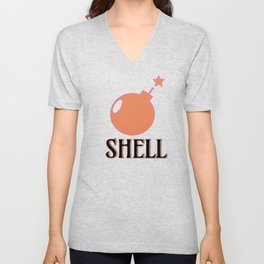 Bombshell #society6 #buyart Unisex V-Neck