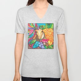 For Georgie Unisex V-Neck