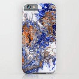 Team Splash, Orange and Blue iPhone Case