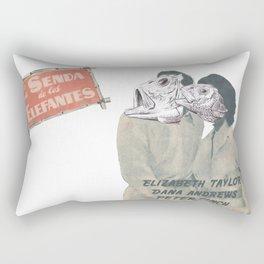 La Senda de los Elefantes Rectangular Pillow
