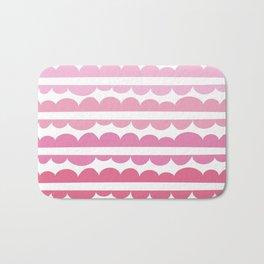 Mordidas Gradient Pink Bath Mat