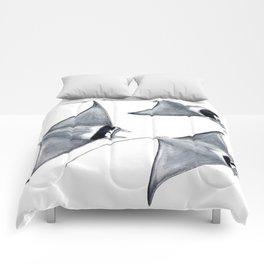 Devil fish Manta ray Mobula mobular Comforters