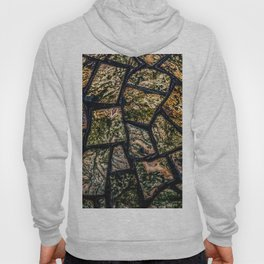 Colorful stainglass pattern Hoody