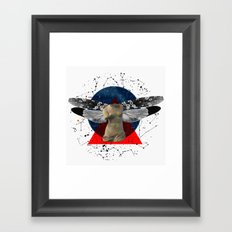 Wonder Wood Dream Mountains - The Demon Cleaner Series · The Lost Ghost Framed Art Print