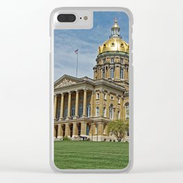 Iowa's Crown Jewel Clear iPhone Case