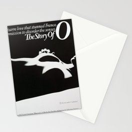 Vintage Film Poster - Story of O (1975) Stationery Cards