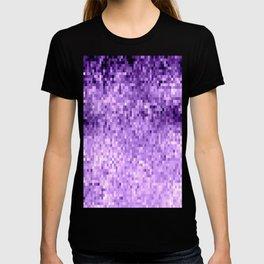 LavendeR Purple Pixels T-shirt