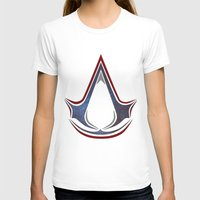 assassins creed T-shirts featuring Assassins Creed - Space by Fatih