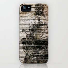 The Man with the Mask iPhone Case