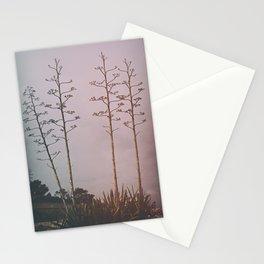 agava trees Stationery Cards