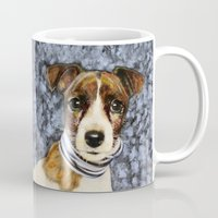 rocky Mugs featuring Rocky by dogface photography