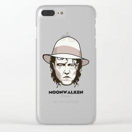 Moonwalken Clear iPhone Case