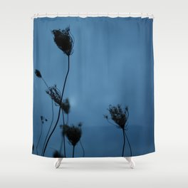 Queen Anne's Lace at Dusk Shower Curtain