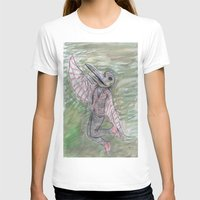 birdman T-shirts featuring blackdeath birdman by melissa E