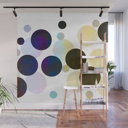 Dots in Chocolate and Vanilla Wall Mural