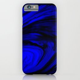 Marine Blue Ocean Vortex iPhone Case