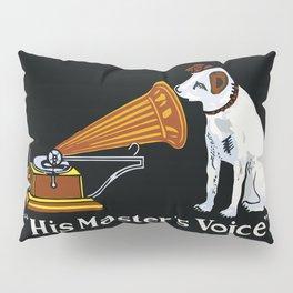 Retro his master's voice, Nipper the Dog Pillow Sham