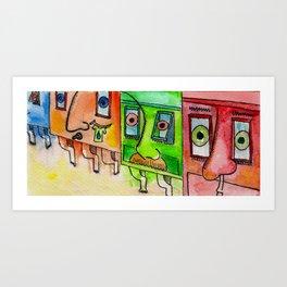 "#mymalta ""Gallariji Maltin, iccassati u mhalltin"" Art Print"